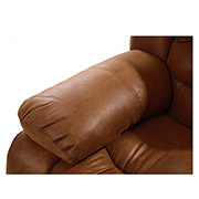 Wrangler Tan Swivel Glider Recliner  alternate image, 5 of 5 images.