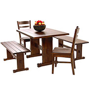 Santa Fe 5-Piece Casual Dining Set  main image, 1 of 10 images.