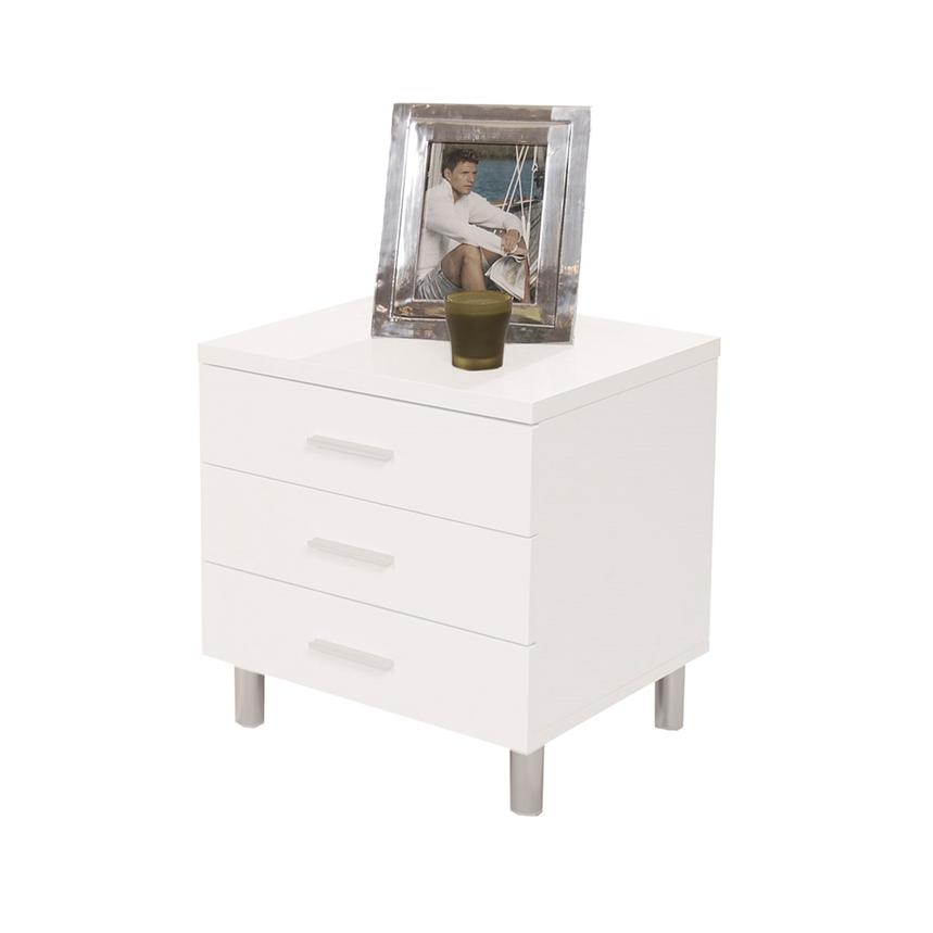 Bellmar White Nightstand  main image, 1 of 7 images.