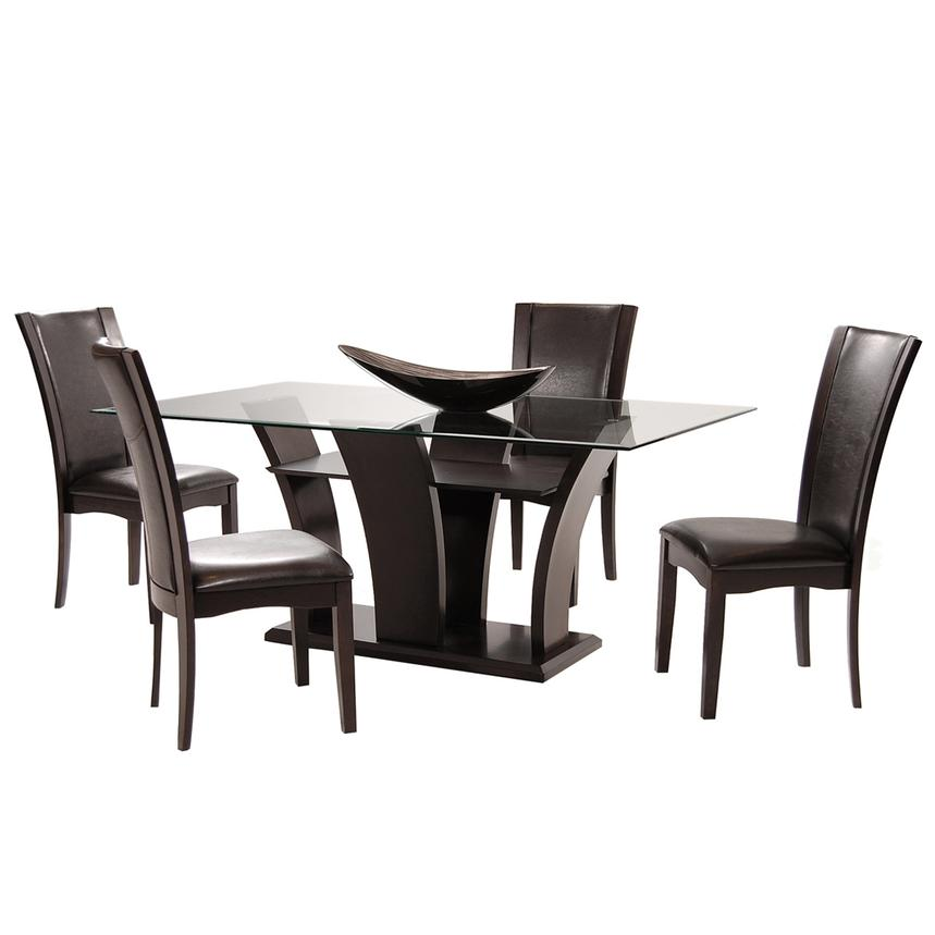 Daisy Brown 5-Piece Casual Dining Set  main image, 1 of 10 images.