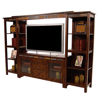 Santa Fe Wall Unit w/Bridge