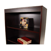 Bellmar Brown Bookcase  alternate image, 3 of 8 images.