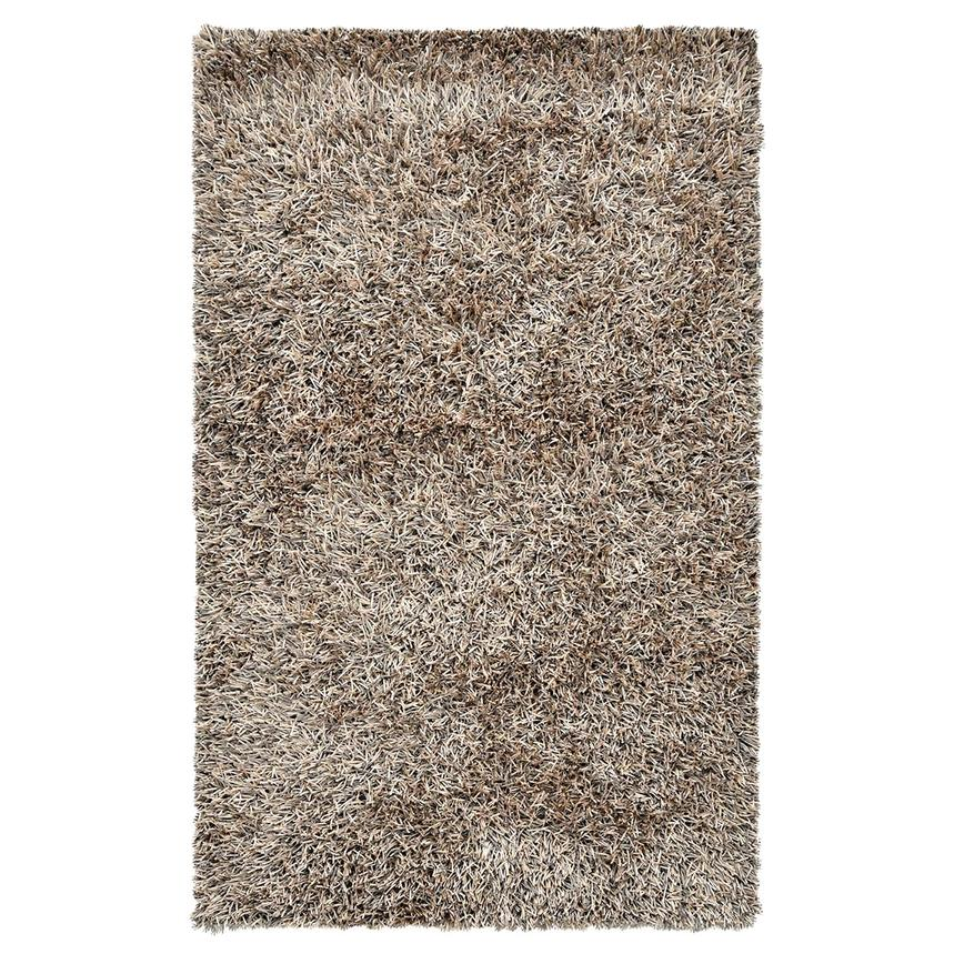 Linden Beige/Blue 5' x 8' Area Rug  main image, 1 of 4 images.