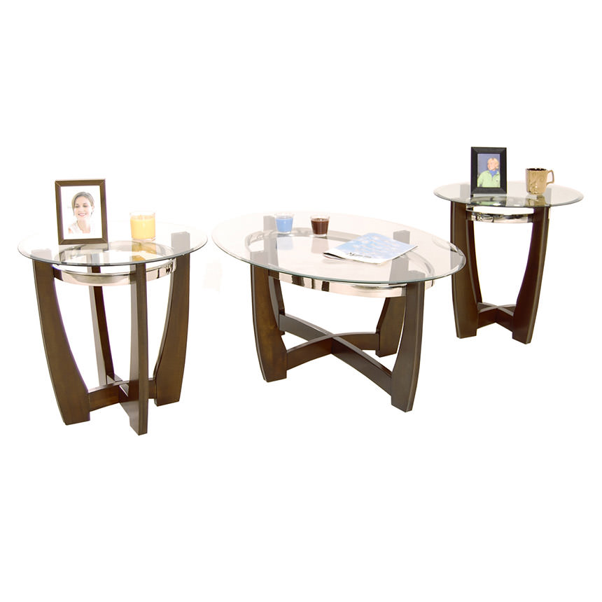 Apollo 3-Piece Table Set By Set Only  main image, 1 of 5 images.