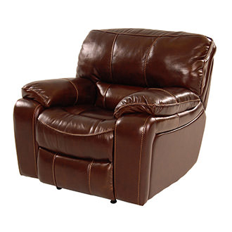 Hudson Power Motion Leather Recliner