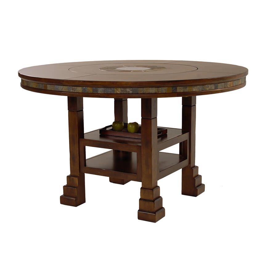 Santa Fé Round Dining Table  main image, 1 of 6 images.