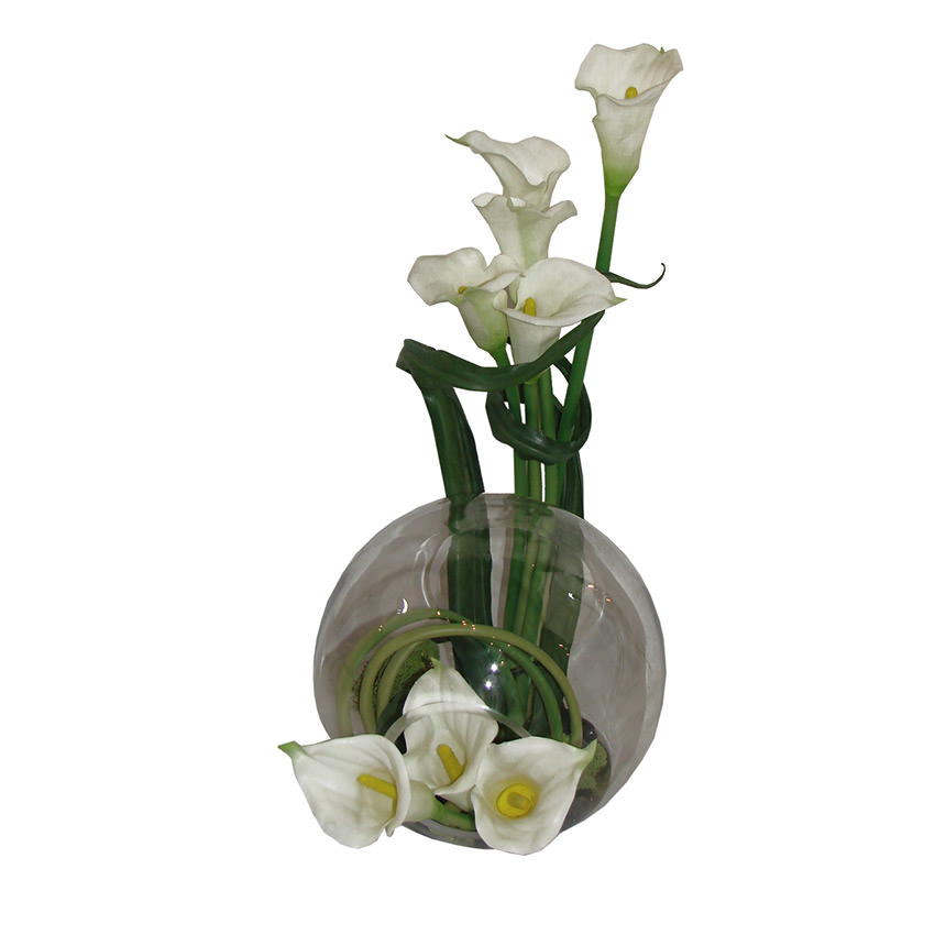 Crosswinds white flower arrangement el dorado furniture crosswinds white flower arrangement main image 1 of 4 images mightylinksfo