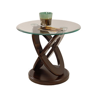 Firth Espresso Side Table