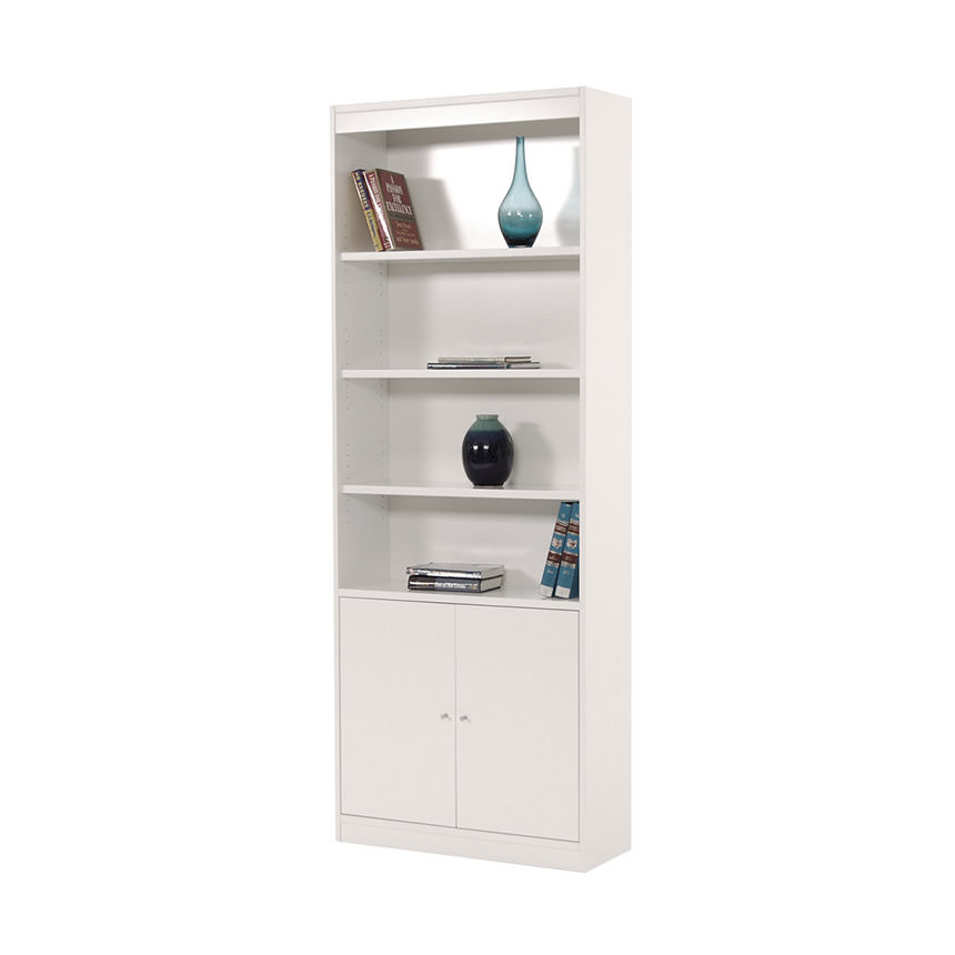 Bellmar White Large Bookcase