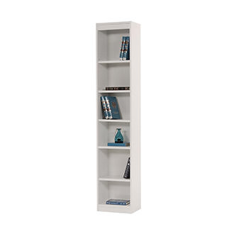 Bellmar White Bookcase
