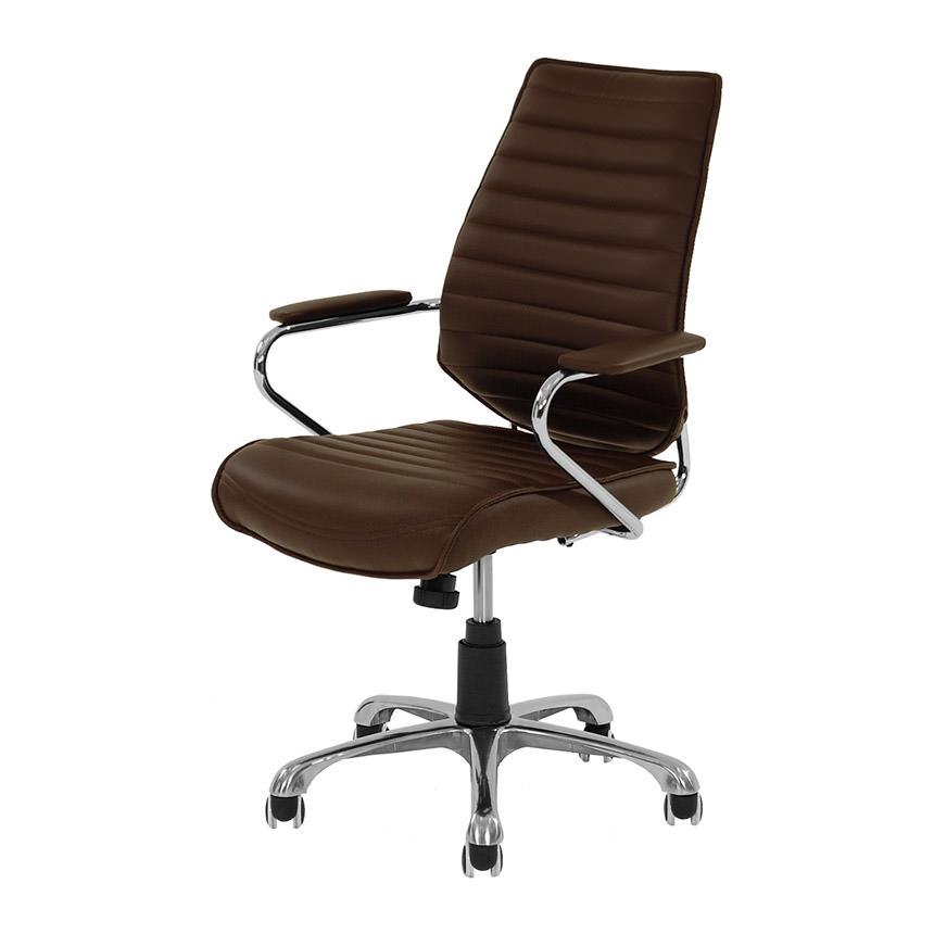 Merveilleux Enterprise Espresso Desk Chair Main Image, 1 Of 6 Images.