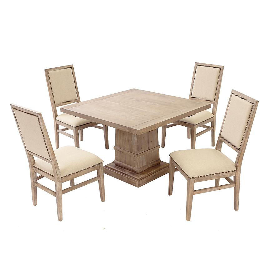 Hudson/Dexter 5-Piece Casual Dining Set  main image, 1 of 13 images.