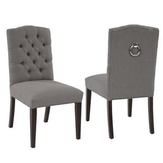 Good Hudson Gray Side Chair