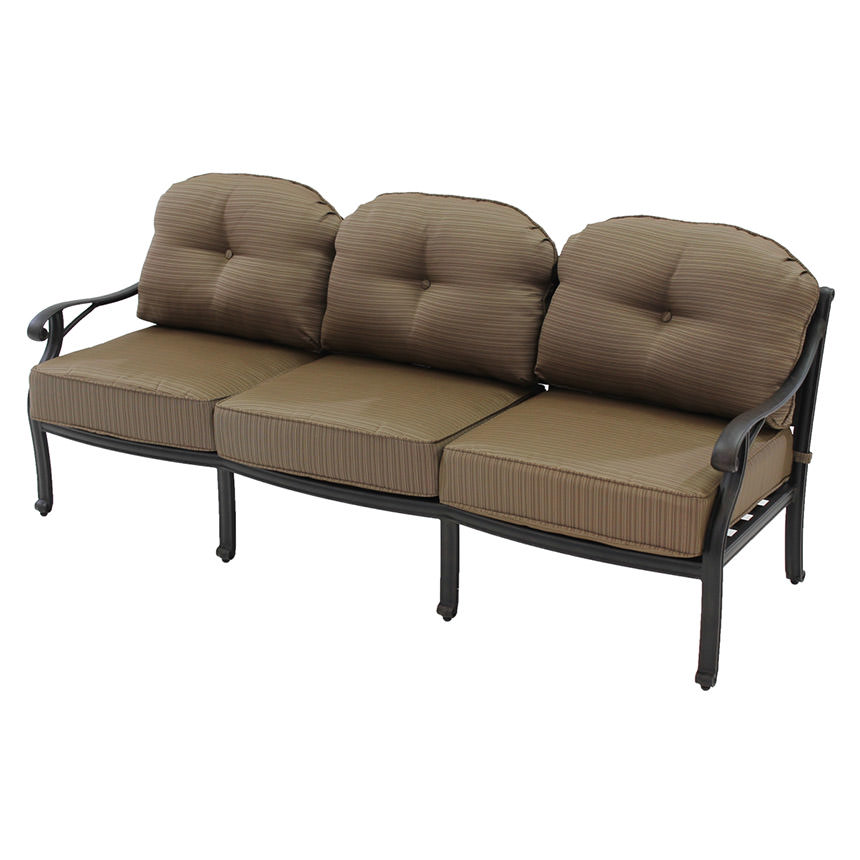 Castle Rock Brown Sofa  main image, 1 of 6 images.