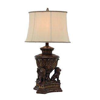 Wonderful Lions Table Lamp