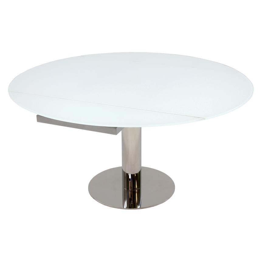 Tami White Extendable Dining Table  main image, 1 of 4 images.