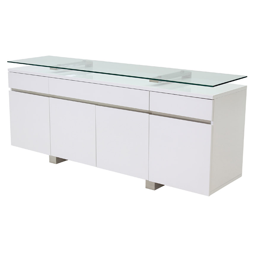 Novo White Buffet  main image, 1 of 4 images.
