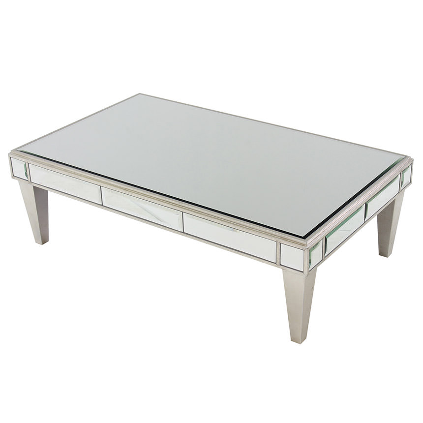 Johanna Mirrored Coffee Table Main Image 1 Of 6 Images
