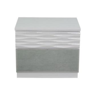 Manhattan White Nightstand