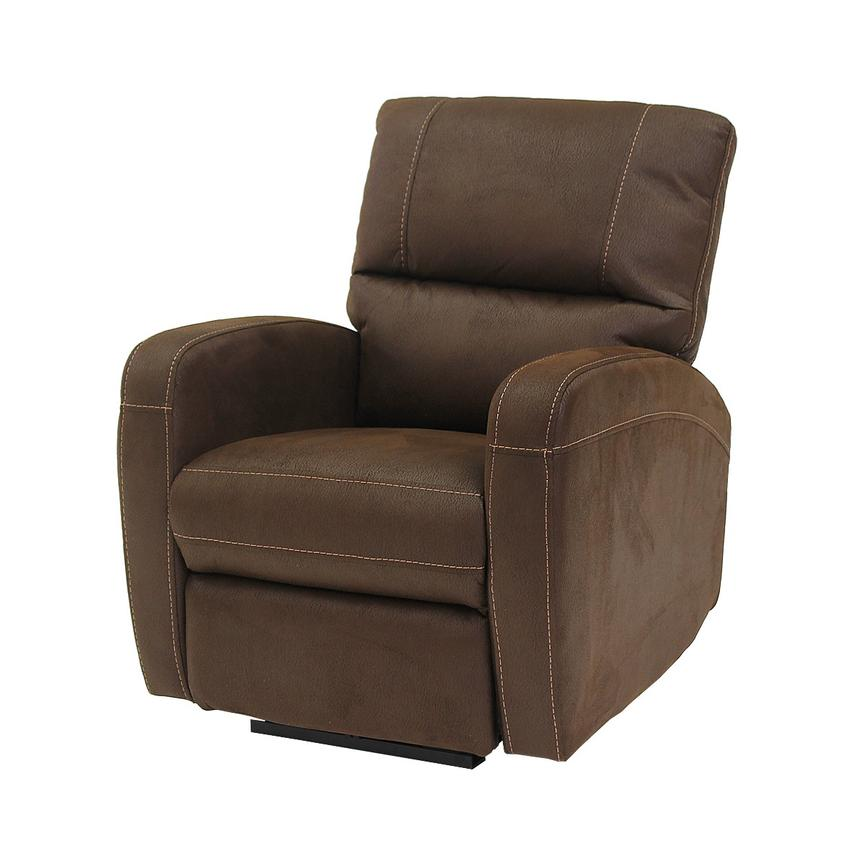 Keelogan Brown Power Motion Recliner  main image, 1 of 7 images.