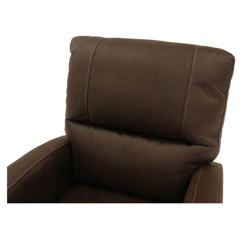 Keelogan Brown Power Motion Recliner  alternate image, 5 of 8 images.