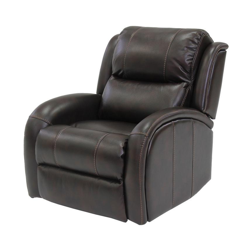 Mason Brown Power Motion Recliner El Dorado Furniture