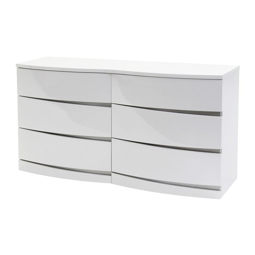 Brighton White Dresser  main image, 1 of 6 images.