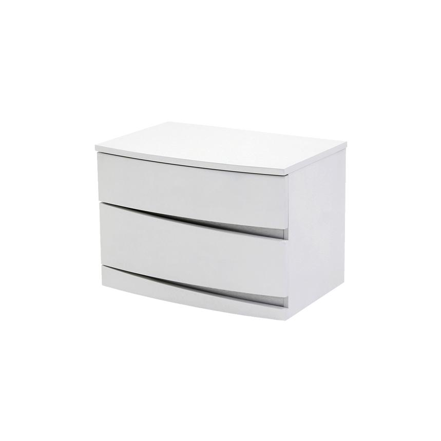 Brighton White Nightstand  main image, 1 of 7 images.