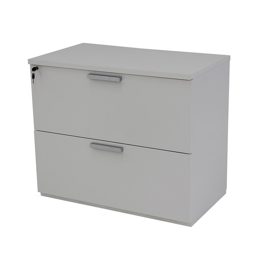Sedona White Lateral File Cabinet Made In Italy Main Image 1 Of 5 Images