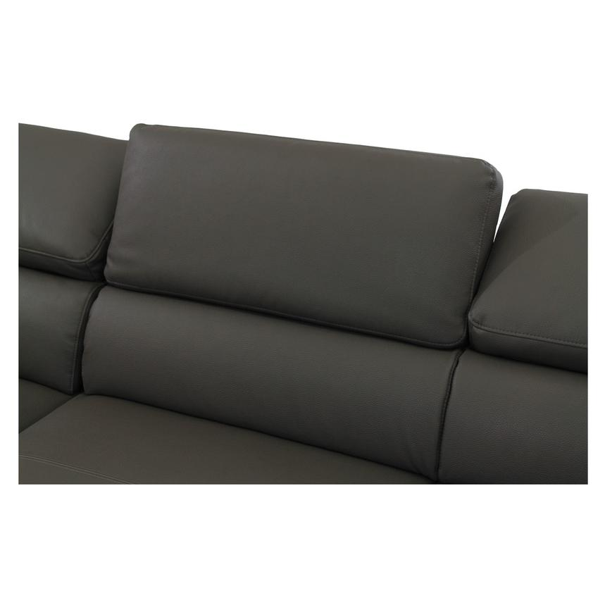 Costa Gray Sofa w/Left Chaise  alternate image, 5 of 7 images.