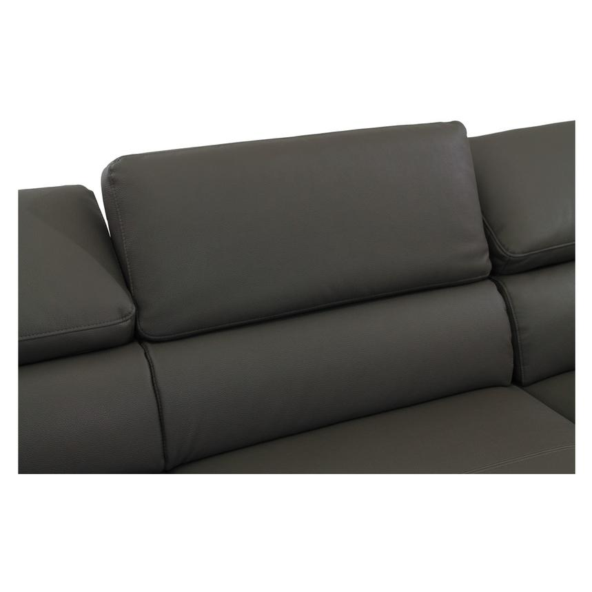 Costa Gray Sofa w/Right Chaise  alternate image, 5 of 7 images.