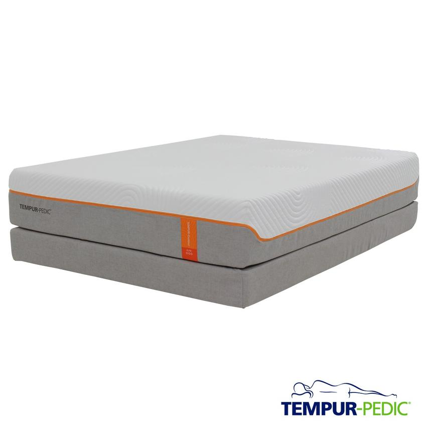 Contour Supreme Memory Foam Full Mattress Set w/Regular Foundation by Tempur-Pedic  main image, 1 of 5 images.