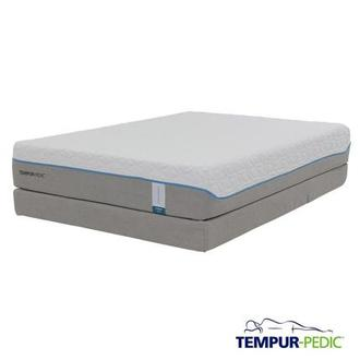 Cloud Supreme Memory Foam Queen Mattress Set w/Regular Foundation by Tempur-Pedic