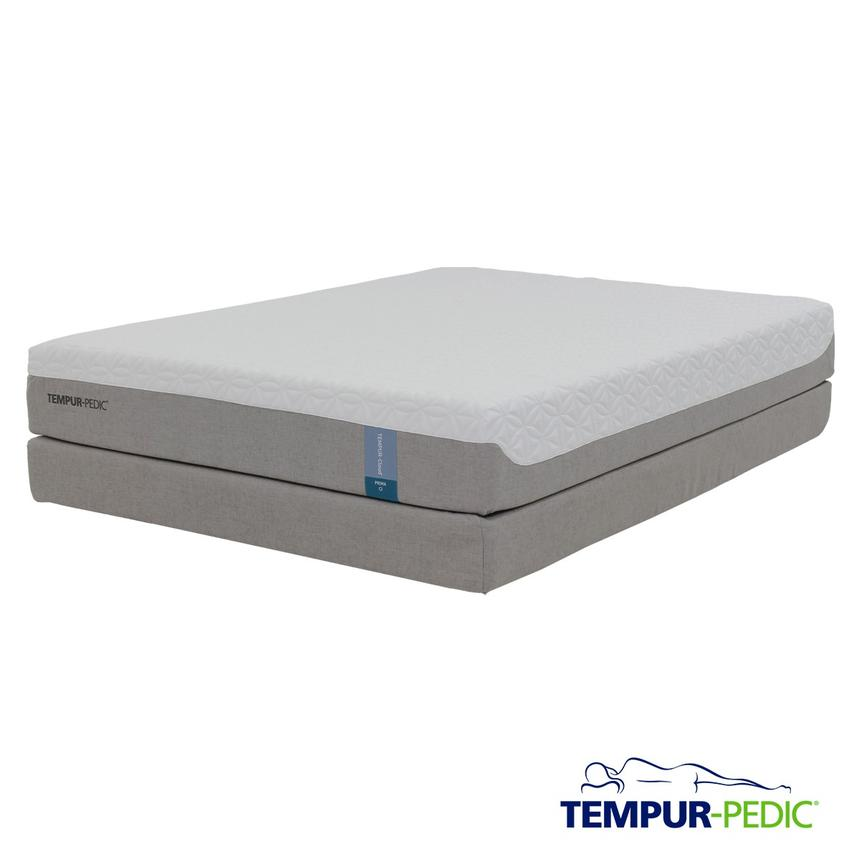 Cloud Prima Memory Foam Queen Mattress Set w/Regular Foundation by Tempur-Pedic  main image, 1 of 5 images.