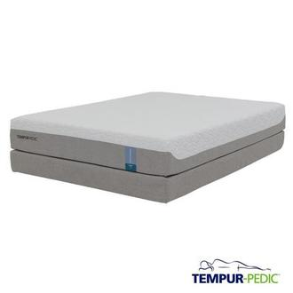 Cloud Prima Memory Foam Queen Mattress Set w/Low Foundation by Tempur-Pedic