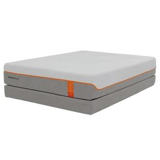 Contour Elite Queen Memory Foam Mattress w/Regular Foundation by Tempur-Pedic