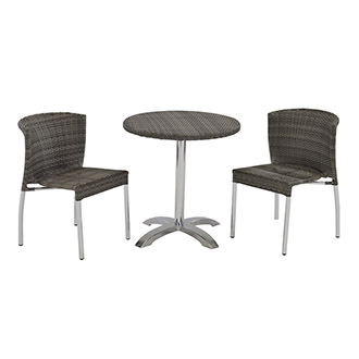 Gerald Gray 3-Piece Patio Set