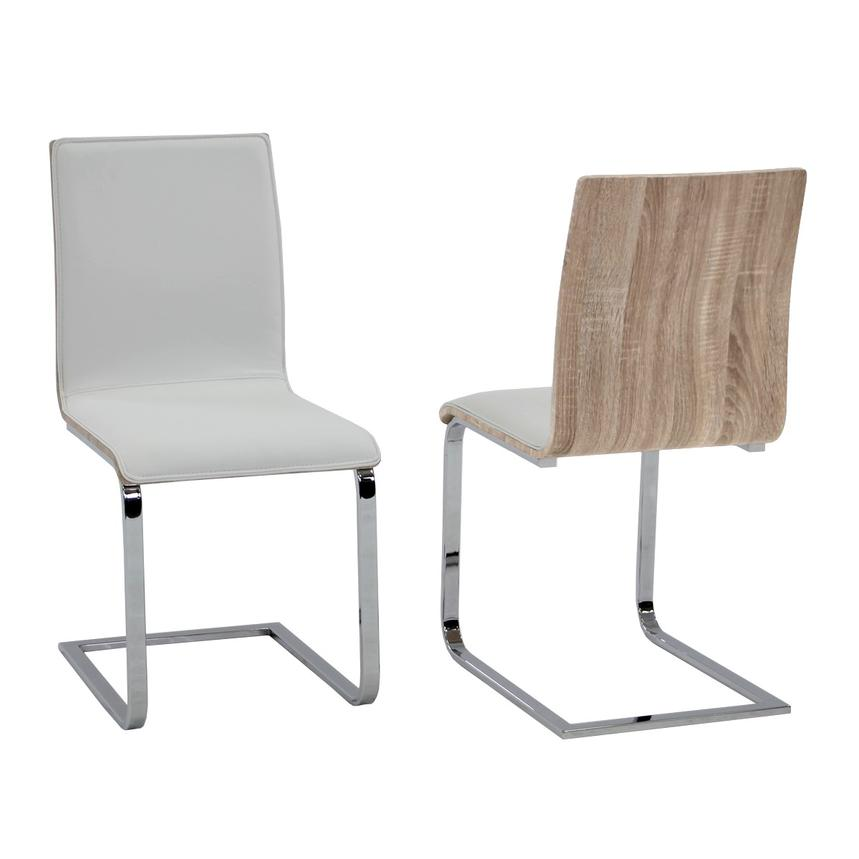 Solimar White Side Chair  main image, 1 of 6 images.