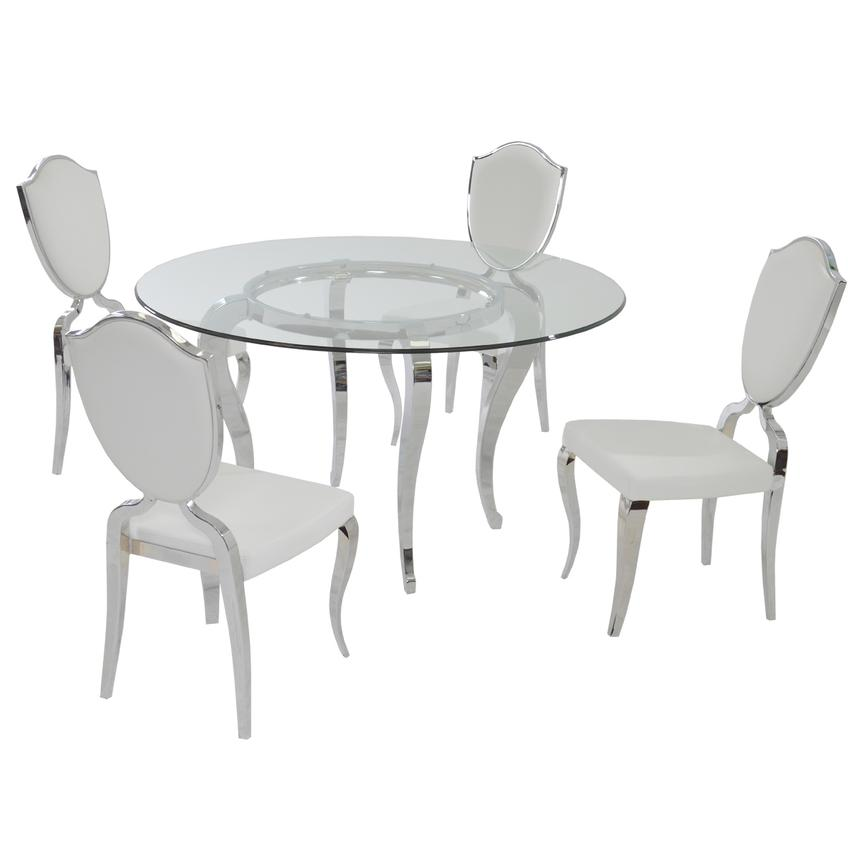 Letticia 5-Piece Formal Dining Set  main image, 1 of 7 images.