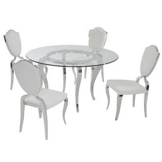 Letticia 5-Piece Formal Dining Set