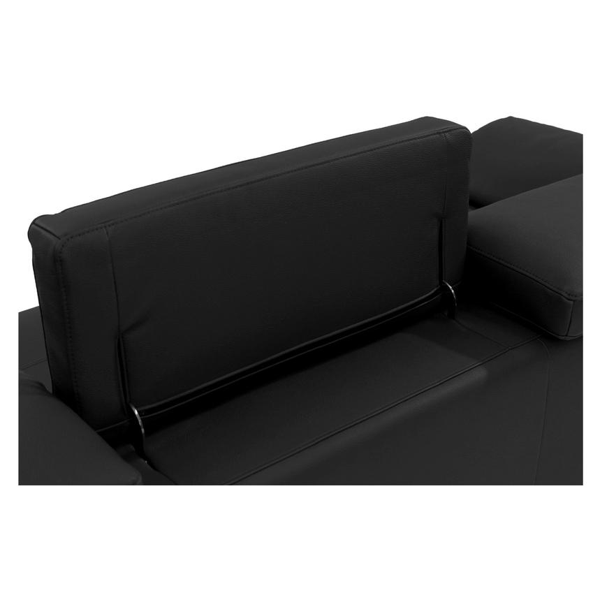 Costa Black Sofa w/Right Chaise  alternate image, 5 of 6 images.