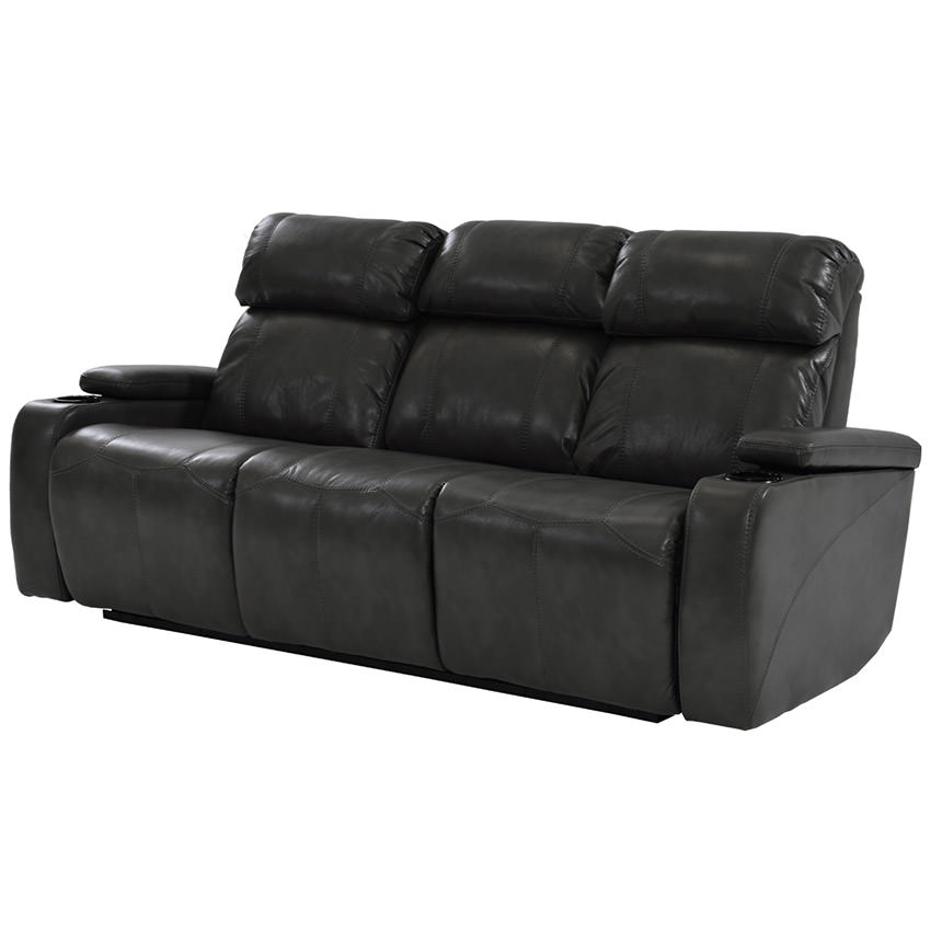 Magnetron Black Power Motion Sofa  main image, 1 of 9 images.