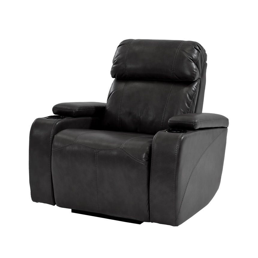 Magnetron Black Power Motion Recliner  main image, 1 of 7 images.