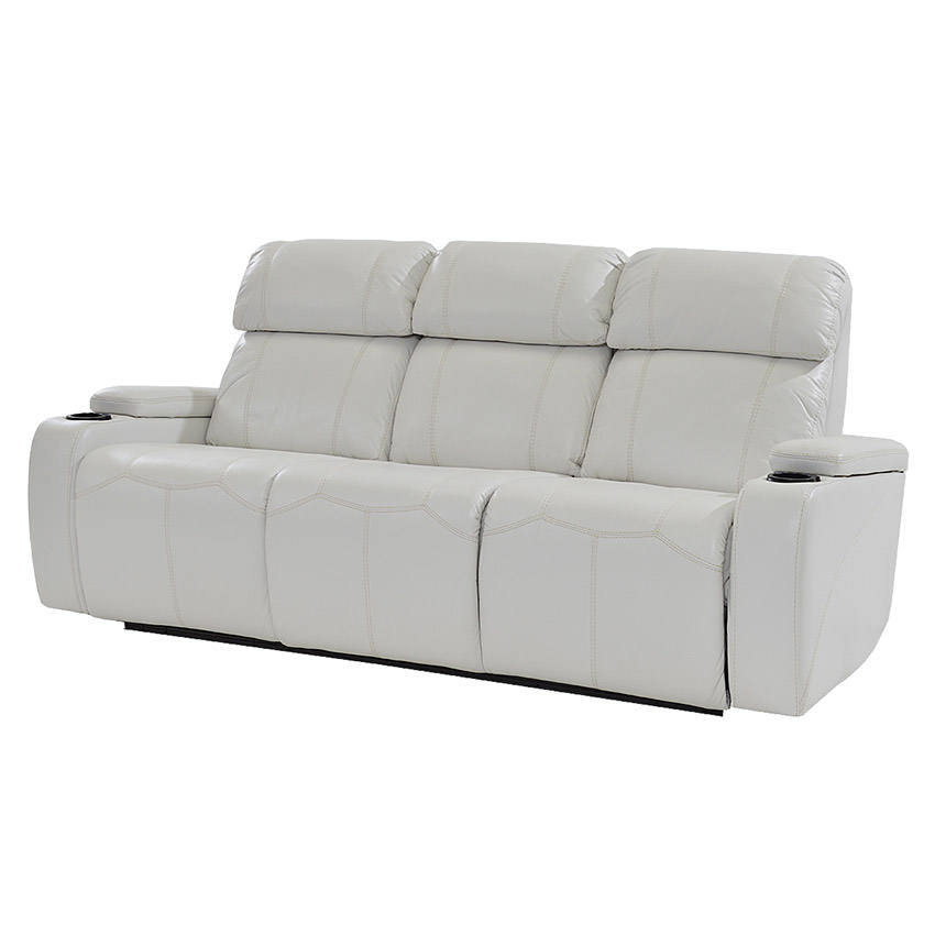 Magnetron White Power Motion Sofa  main image, 1 of 10 images.