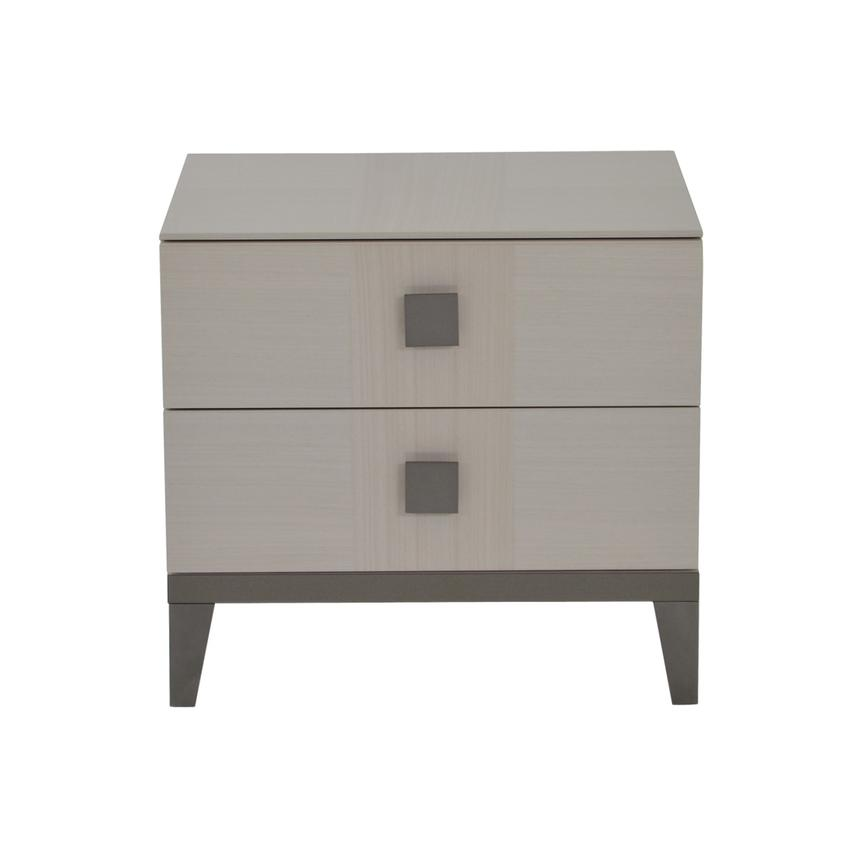 Mont Blanc Gray Nightstand Made in Italy  main image, 1 of 8 images.