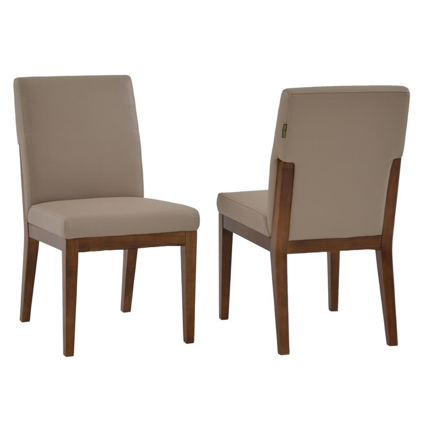 Suria Taupe Side Chair  main image, 1 of 7 images.