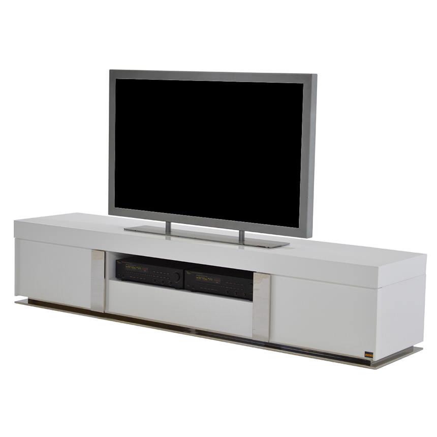 Grand Night White Gloss Tv Stand El Dorado Furniture