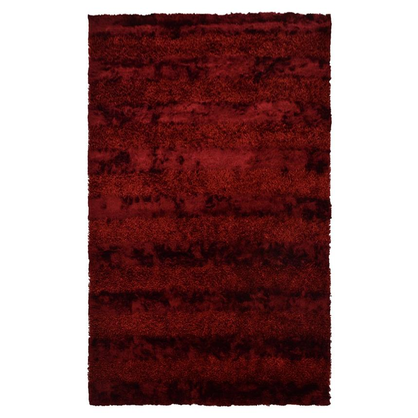 Fusion Red 5' x 8' Area Rug  main image, 1 of 6 images.