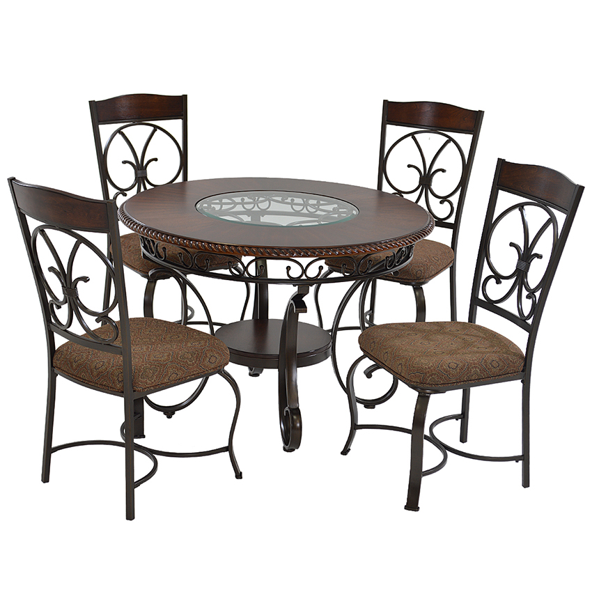 Glambrey 5-Piece Casual Dining Set  main image, 1 of 10 images.