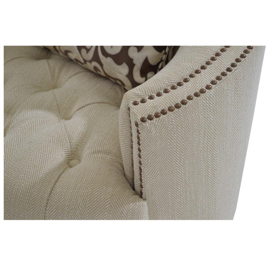 Kimberly Cream Sofa  alternate image, 6 of 8 images.